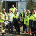 photograph of Exercise Watermark raynet and fire officer